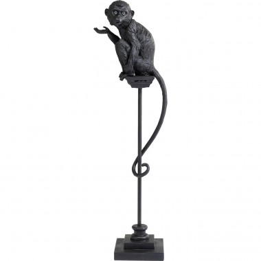 Peça decorativa Circus Monkey Black 108cm