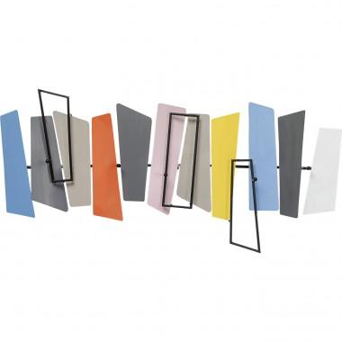 Cabide de parede Abstract Xylophone 80cm