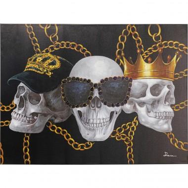 Tela Picture Skull Gang 90x120cm