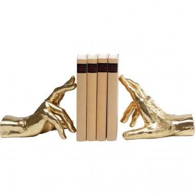 Apoio de livros Holding Fingers (Conjunto de 2)