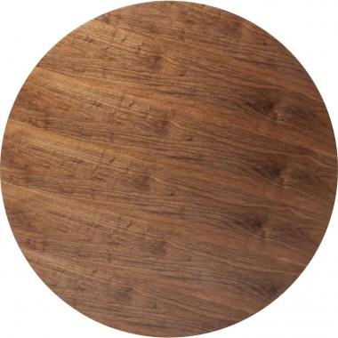 Tampo de mesa Invitation Round Walnut Ø120cm