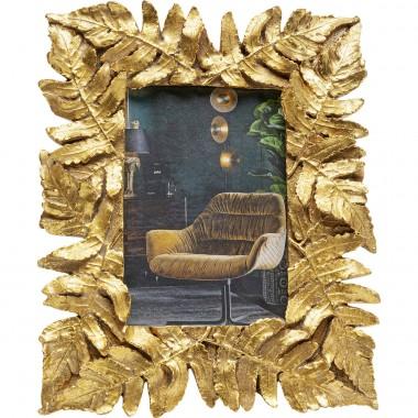 Moldura Gold Leaves