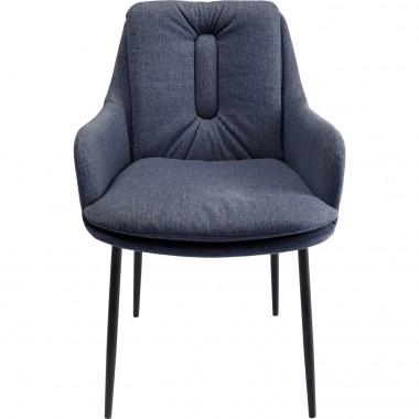 Cadeira com apoio de braço Thea Cinzenta