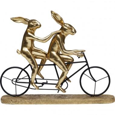 Peça decorativa Tandem Rabbits