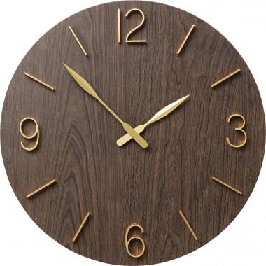 Relógio de parede Oscar Black Ø60cm