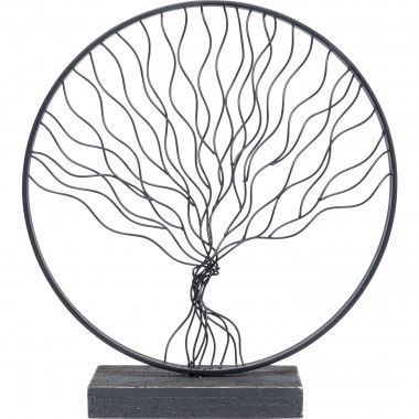 Peça decorativa Rooted