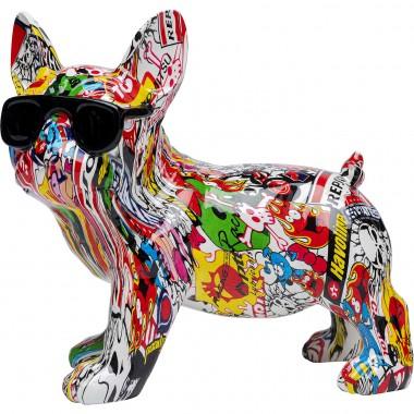Peça decorativa Comic Dog Glasses