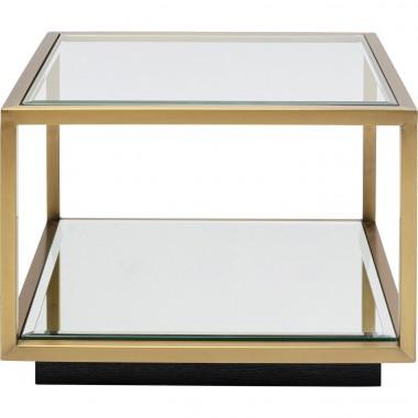 Mesa de apoio Luigi Small Gold 50x50cm