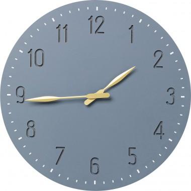 Relógio de parede Mailo Cinza Ø50cm