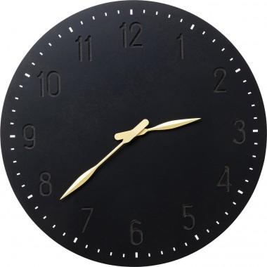 Relógio de parede Mailo Preto Ø50cm