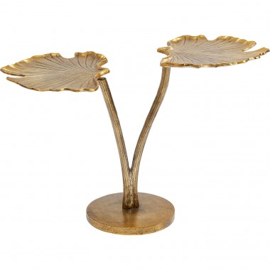 Mesa de apoio Leaf Brass 57x40cm-85577 (9)