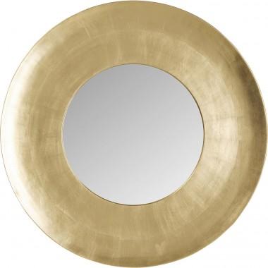 Miroir mural Planet doré Ø108cm