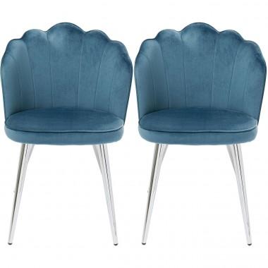 Cadeira Princess Azul (conjunto de 2)