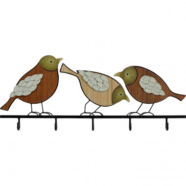 Cabide de parede Bird Cattery 86cm