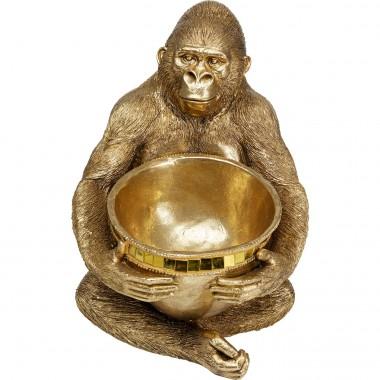 Peça decorativa Holding Bowl Dourada