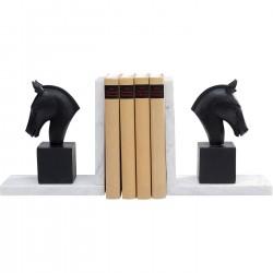 Suporte de livros Horse (conjunto de 2)