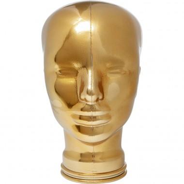 Suporte de auscultadores Gold Metallic